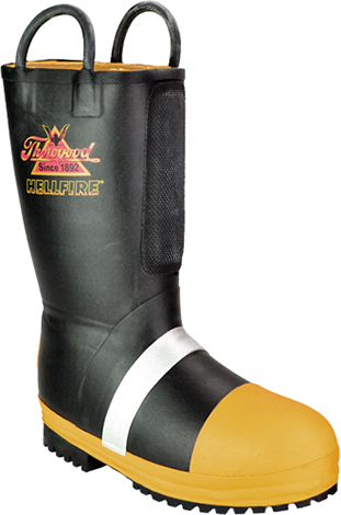Women's Thorogood HellFire WP/Insulated Rubber Steel Toe Boot 507-6000