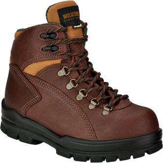 "Women's Wolverine 6"" Steel Toe WP Hiker Work Boot W03979"