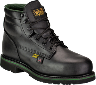 "Men's Work One 6"" Steel Toe Metguard Boot (U.S.A.) E078"