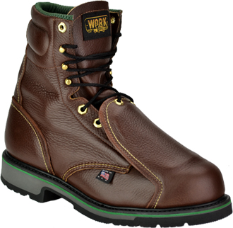 "Men's Work One - Thorogood 8"" Steel Toe Metguard Boot (U.S.A.) E308 (804-4911)"