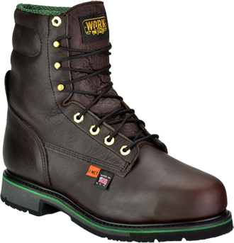 "Men's Work One/Thorogood 8"" Steel Toe Metguard Boot (U.S.A.) I703  (804-4561)"
