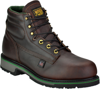 "Men's Work One - Thorogood 6"" Steel Toe Work Boot (U.S.A.) S060  (804-4711)"