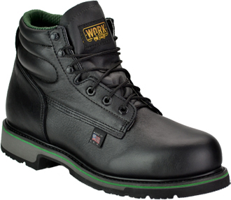 "Men's Work One - Thorogood 6"" Steel Toe Work Boot (U.S.A.) S061  (804-6711)"