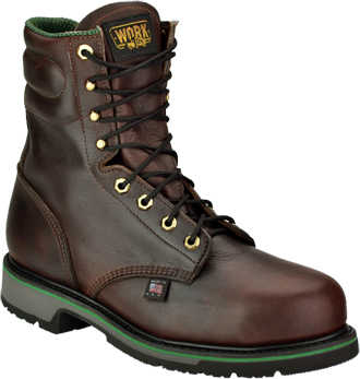 "Men's Work One/Thorogood  8"" Steel Toe Work Boot (U.S.A.) S080  