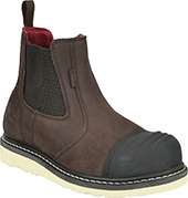 Men's Avenger Composite Toe WP Slip-On Wedge Sole Romeo Work Boot 7505