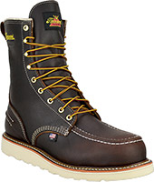 "Men's Thorogood 8"" Steel Toe WP Wedge Sole Work Boot (U.S.A.) 804-3800"