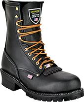 76f045dc8b4 Boots - Brush Guard Kiltie Boots: Steel-Toe-Shoes.com