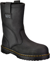 "Men's Dr. Martens 10"" Steel Toe Wellington Work Boot 2295W1661"