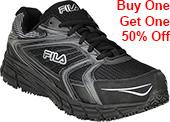 Men's Fila Reckoning Steel Toe Athletic Work Shoe 1SR21264-010