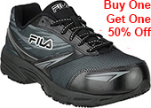 Women's Fila Composite Toe Work Shoe 5LM00154-002