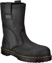 Men's Dr Martens Extra Wide Steel Toe Wellington Work Boot R13397001