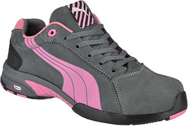 Women's Puma Steel Toe Work Shoe 642865 9 m