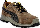 Men's Puma Omni Brown Steel Toe Work Shoe 643645