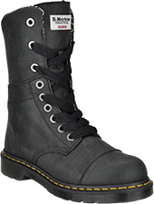 "Women's Dr Martens 10"" Steel Toe Work Boot R16782001"