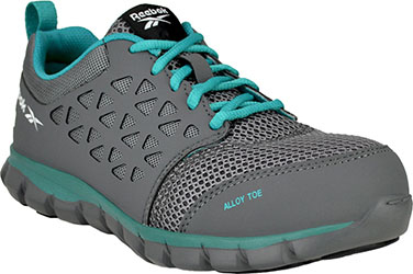 Women s Reebok Sublite Alloy Toe Athletic Work Shoe RB045  Steel-Toe-Shoes .com 48b9e8488
