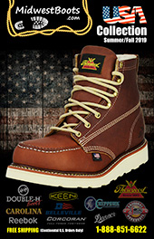 USA Collection Catalog, Safety & Non-Safety Toe Styles (72 Pages, 240+ Styles)