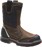 "Men's Wolverine 10"" Composite Toe WP Wellington Work Boot W10488"
