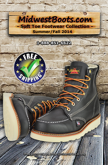 Midwest Boots Non-Safety Toe Catalog (88 Pages,  330+ Styles)